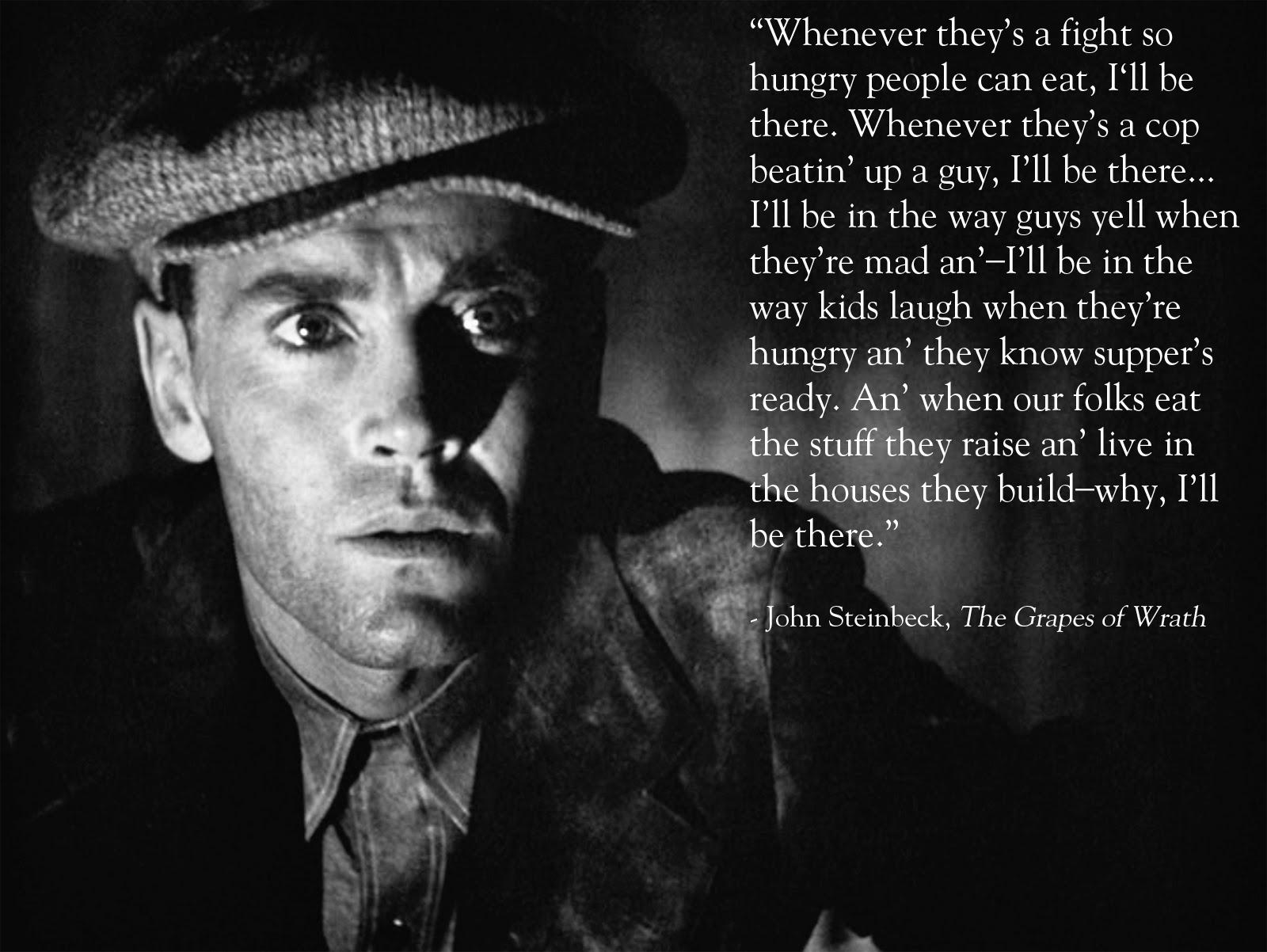 John Steinbeck's Grapes of Wrath: Tom Joad Character